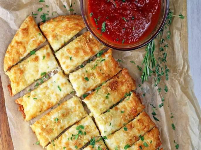 recipe of cheese garlic bread | आताचीज गार्लीक ब्रेड करणं होणार एकदम सोपं, ही घ्या कृती