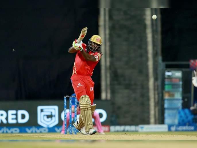 IPL 2021 RR vs PK Live T20 Score : Chris Gayle becomes first player to hit 350 sixes in IPL, Ben Stokes has dropped KL Rahul   IPL 2021 : RR vs PK T20 Live : ख्रिस गेलच्या नावावर मोठा विक्रम, आयपीएलमध्ये हा विक्रम नोंदवणारा पहिलाच खेळाडू!