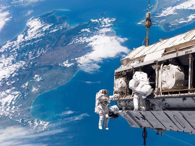 Wow...! Our India looks very beautiful from space; Photo taken by NASA | NASA : व्वा...! अंतराळातून खूपच सुंदर दिसतो आपला महान भारत; नासाने टिपले छायाचित्र