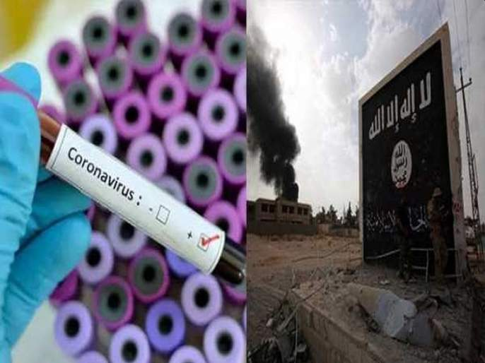 Coronavirus: ISIS told allah respond to idol worshiping countries hrb | Coronavirus: ISIS बरळली; म्हणाली, 'मूर्तीपूजा करणाऱ्या देशांना अल्लाने उत्तर दिले'