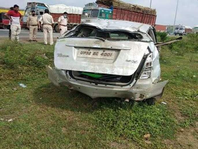 Gangster caught in Mumbai, vehicle crash AND Death on the spot   गँगस्टरला मुंबईत पकडले, उत्तर प्रदेशला नेताना वाहनाला अपघात; जागीच मृत्यू