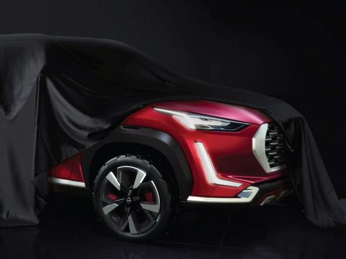Nissan Magnetic teaser launch; will hit maruti breeza, hyundai venue, kia sonet in price war | ब्रेझा, व्हेन्यूला टक्कर देणार; स्वस्त किंमत ठेवून जगप्रसिद्ध कंपनी बाजार 'खेचणार'