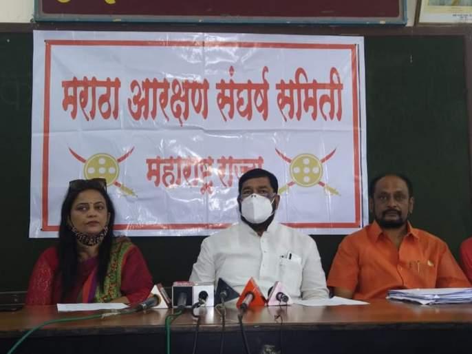 Maratha Reservation: Call for Maharashtra Bandh on 10th October | मराठा आरक्षण: ६ ऑक्टोबरला मातोश्रीबाहेर आंदोलन, १० ऑक्टोबरला महाराष्ट्र बंदची हाक