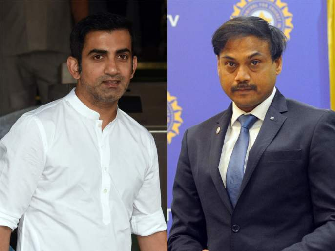 Gautam Gambhir and MSK Prasad engage in heated debate over selection criteria in Team India svg | गौतम गंभीर अन् टीम इंडियाचे माजी निवड समिती प्रमुख एमएसके प्रसाद यांच्यात जुंपली