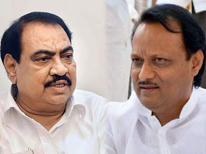 Discussion of Eknath Khadse's NCP entry | खडसे यांच्या राष्ट्रवादी प्रवेशाची चर्चा
