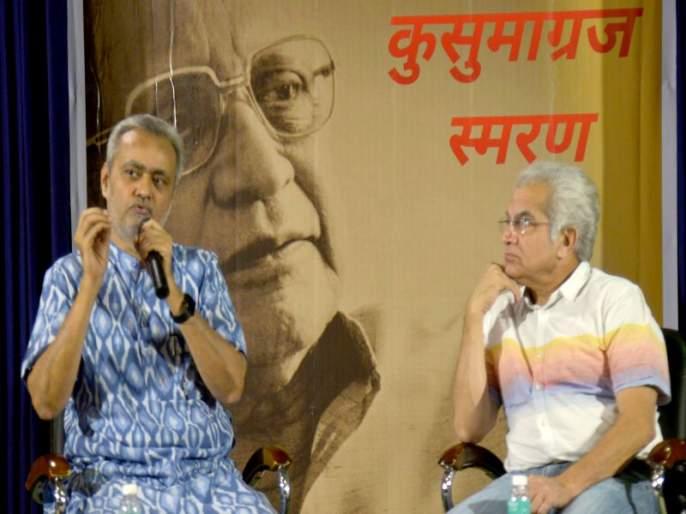 ... So, the best literature from journalism: Girish Kuber | ...तर पत्रकारितेतून उत्तम साहित्यनिर्मिती : गिरीश कुबेर