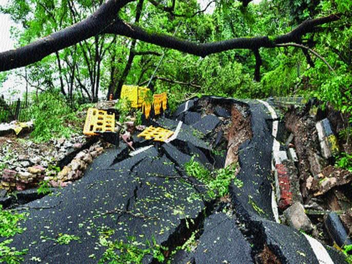 Danger on Malabar Hill persists | मलबार हिलवरील धोका कायम