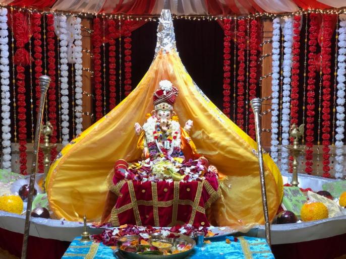 Ganeshotsav abroad celebrates social commitment | Ganpati Festival-परदेशातील गणेशोत्सवाने जपली सामाजिक बांधिलकी