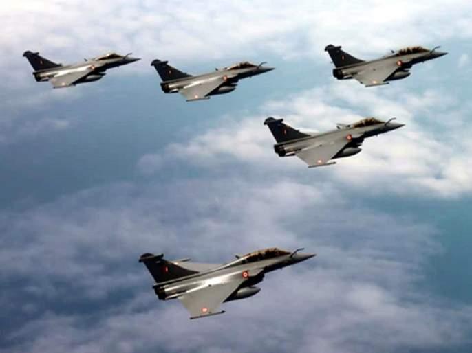 Cut to fill the enemy; Air warrior Rafel came in India | दुश्मनाला धडकी नाही कापरे भरवणार; हवाई योद्धा राफेलदाखल