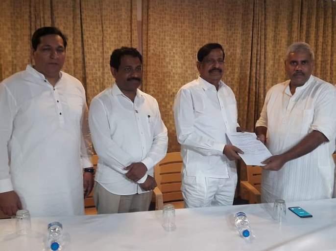 finally Ganesh Naik got AB form from airoli constituency exept of sandip naik   वडिलांसाठी मुलाचा त्याग ! गणेश नाईकांना अखेर AB फॉम मिळाला, 'तिकीट फिक्स'