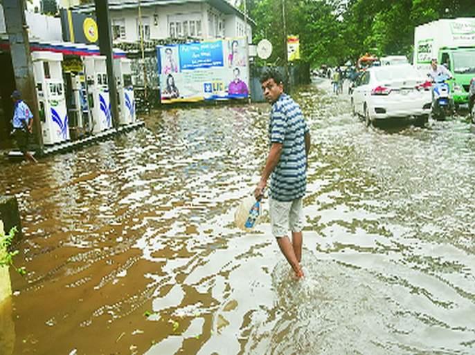 kyarr cyclone avoided; Electricity, water shortage   'क्यार'चा धोका टळला; वीज, पाण्याअभावी लोकांचे हाल