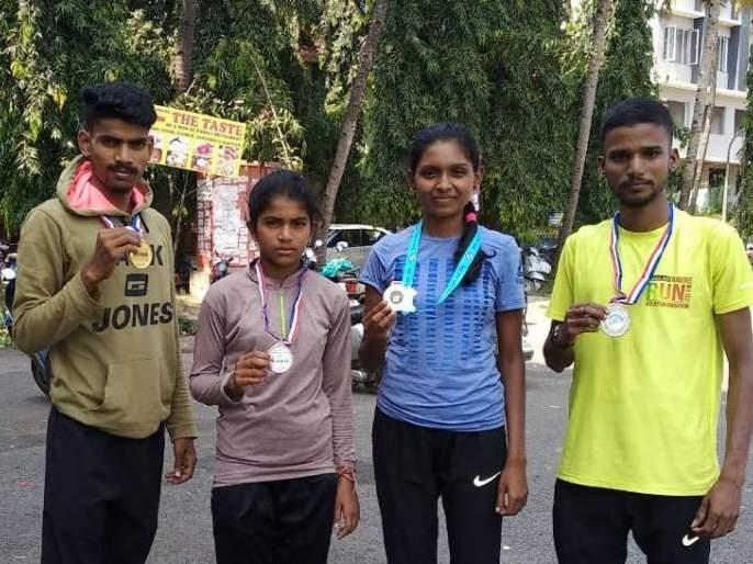 runners from Maharashtra shine in Goa! | महाराष्ट्रातील आदिवासी धावपटूंची गोव्यात चमक!