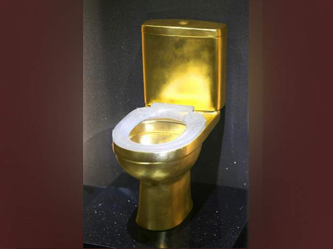 This solid gold toilet with over 40815 diamonds has taken internet by storm | बाबो! सोन्यापासून तयार 'या' टॉयलेट सीटवर लावले आहेत ४० हजार हिरे, किंमत वाचून व्हाल गार!