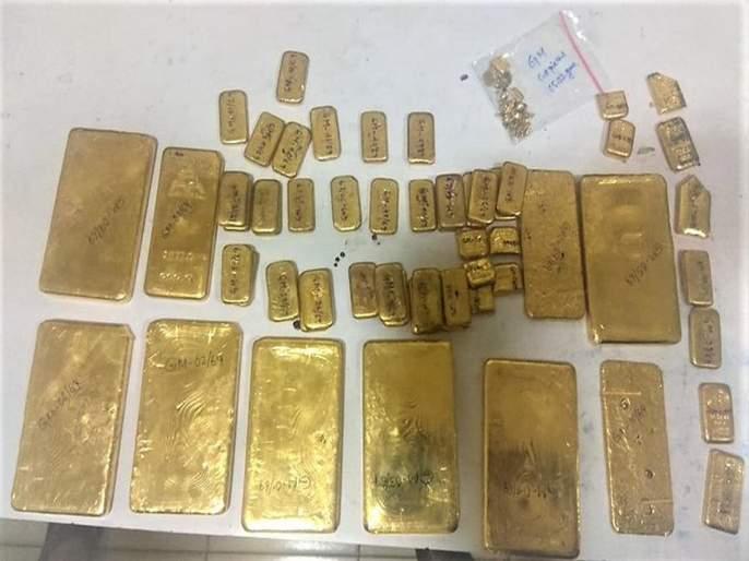 Gold smuggling racket busted by DRI;42 kg gold seized in Kolkata, Raipur and Mumbai | तस्करीचे रॅकेट डीआरआयकडून उध्द्वस्त; कोलकाता, रायपूर व मुंबईत ४२ किलो सोने जप्त