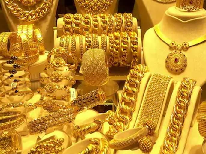 big drop in gold prices; A reduction of one thousand rupees in the price of silver   सोन्याच्या भावात मोठी घसरण; तर चांदीच्या दरातही हजार रुपयांची कपात; जाणून घ्या...