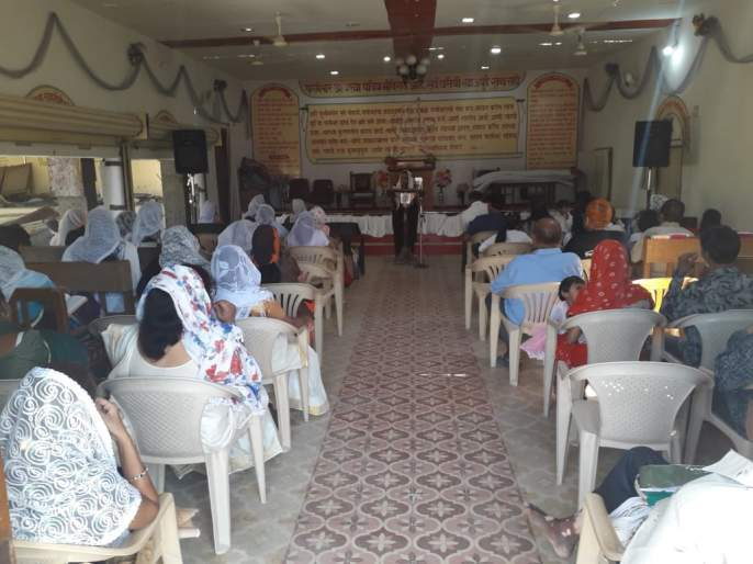 Goodfriday Day celebrations in Akola   अकोल्यात गुडफ्रायडे भक्तीभावाने साजरा
