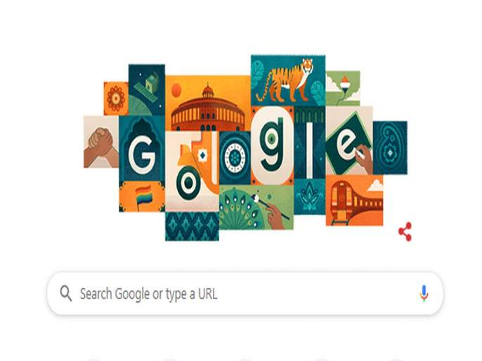 Independence Day Google Wishes India A Happy Independence Day With A Doodle | Independence Day : गुगलकडून डुडलद्वारे स्वातंत्र्य दिनाच्या शुभेच्छा
