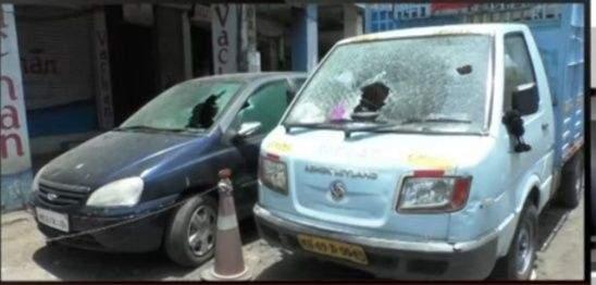 Chaos of notorious goons in Ganesh Peth area in Nagpur | कुख्यात गुंडांचा नागपुरातील गणेशपेठ परिसरात हैदोस