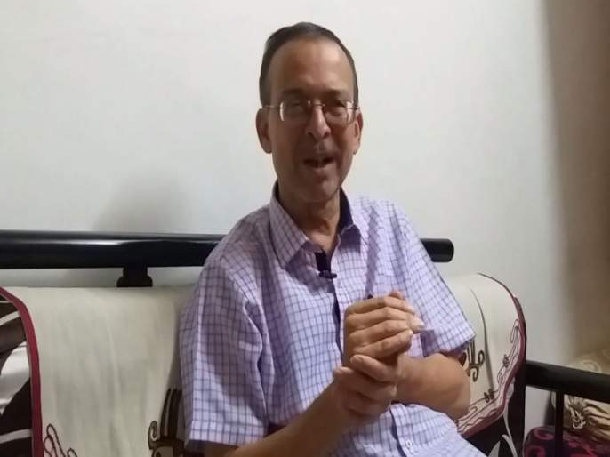 The story of the Marathi Kaka who fighting for survival in Marathi   Marathi Bhasha Din :मराठी टिकवण्यासाठी आयुष्यचं मराठीमय झालेल्या 'मराठीकाकां'च्या लढाईची गोष्ट !