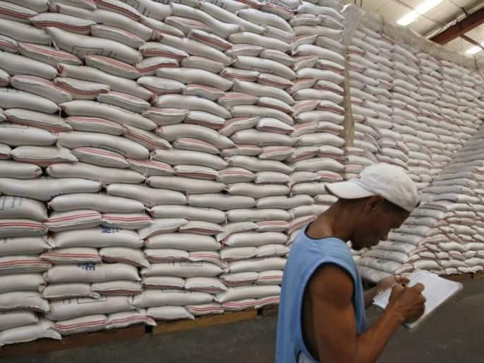 By the way the grain allocation was questioned | धान्य वाटपाचा प्रश्न लागला मार्गी