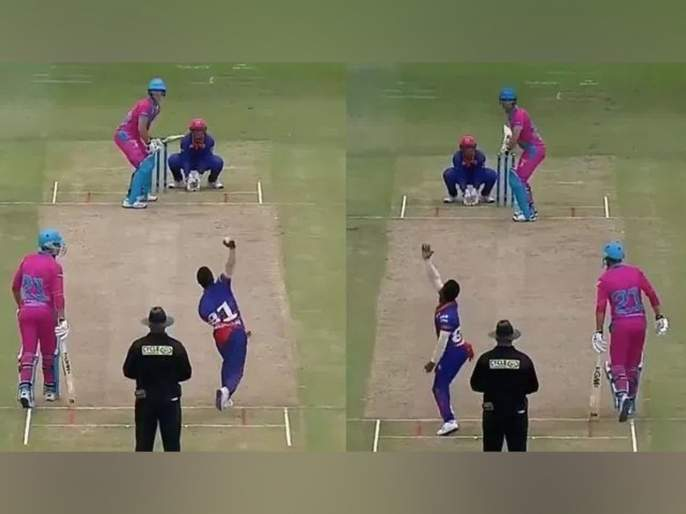 WATCH: South African Gregory Mahlokwana picks up a wicket with each hand in MSL 2019 | Video: नाद करायचा नाय! दोन्ही हातानं गोलंदाजी अन् विकेटही