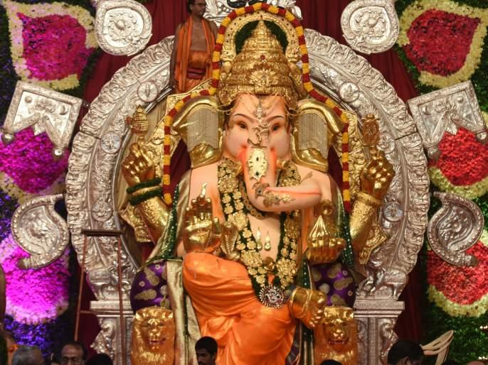 Mumbai: GSB mandal of King's Circle urges government to permit large Ganpati idol during Ganeshotsav | GSB Ganpati : 14 फुटी मूर्तीला परवानगी द्या; जीएसबी सेवा मंडळाची राज्य सरकारकडे विनंती