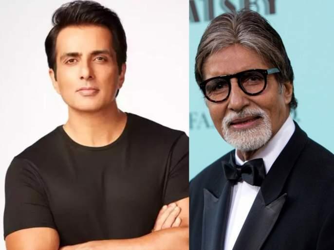 Actor Sonu Sood to star in 'Kisan', wishes from Amitabh Bachchan | अभिनेता सोनू सूद झळकणार 'किसान' चित्रपटात, अमिताभ बच्चन यांनी दिल्या शुभेच्छा