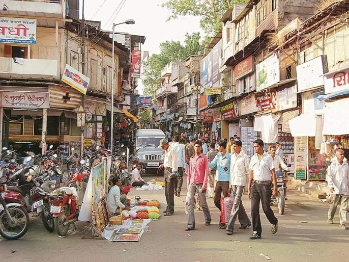 Who has power over Gulamandi? Shiv Sena or BJP ... | गुलमंडीवर सत्ता कुणाची? शिवसेनेची की भाजपची...