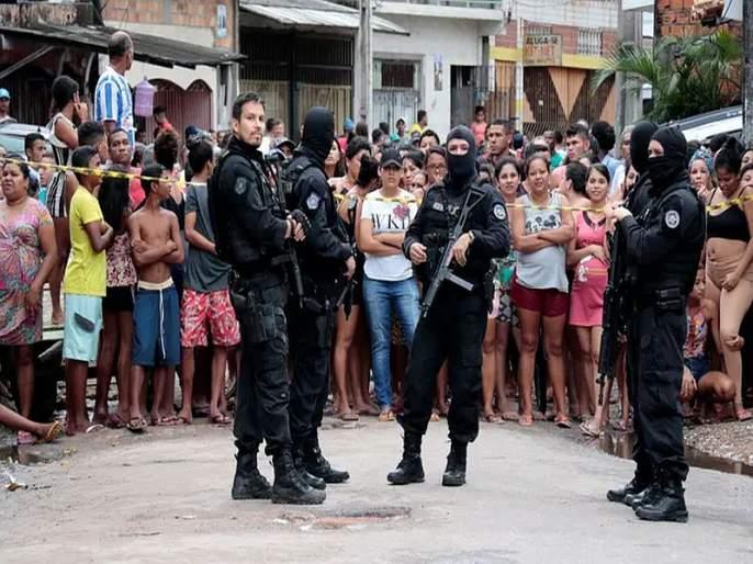Gunmen Kill 11 People In Bar In Brazil | ब्राझिलमधील बेलेम शहरात गोळीबार, 11 जणांचा मृत्यू