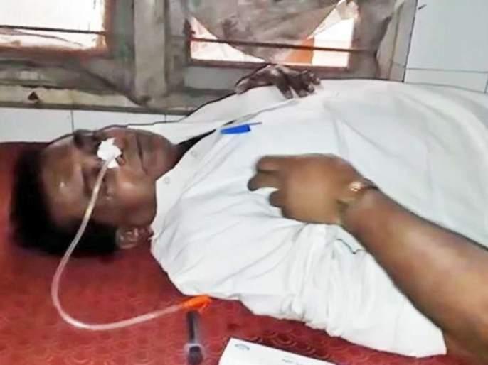 'Congress leader's suicide attempt' due to ticket picking for vidhansabha in MP   निवडणुकीचं तिकीट कापलं, 'काँग्रेस नेत्याकडून आत्महत्येचा प्रयत्न'