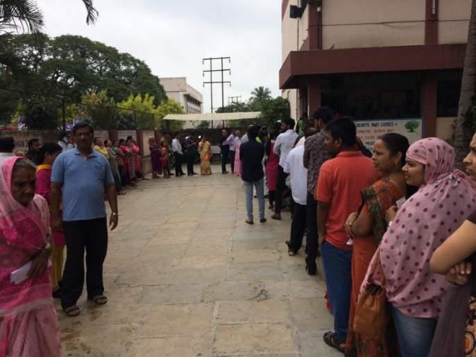 Maharashtra Election 2019 : Voter percentage drcreased in Hadapsar Assembly; 50.16 percent of the voting | महाराष्ट्र निवडणूक २०१९ : हडपसर विधानसभेत मतदानाचा टक्का घसरला; ५०.१६ टक्के मतदान
