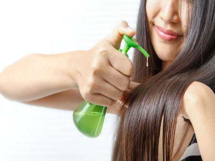 Beauty worried about dry and damaged hair then apply hair serum know the benefits | कोरड्या आणि मुलायम केसांसाठी सीरम करतं मदत; 'हे' होतात फायदे