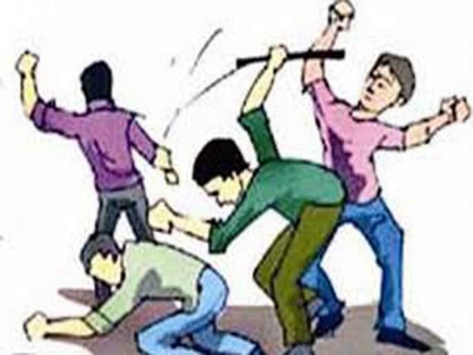 half murder type attack on five people by criminal gang ; Shocking incident in Pimpri   जुन्या भांडणाच्या रागातून टोळक्याचा पाच जणांवर प्राणघातक हल्ला; पिंपरीतील धक्कादायक घटना