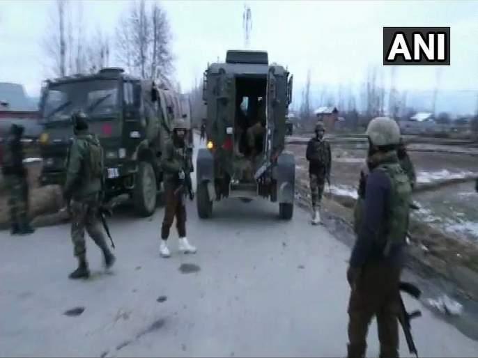 Jammu and Kashmir: One terrorist has been gunned down by security forces in Handwara | Jammu And Kashmir : हंदवाडा चकमकीत एका दहशतवाद्याचा खात्मा