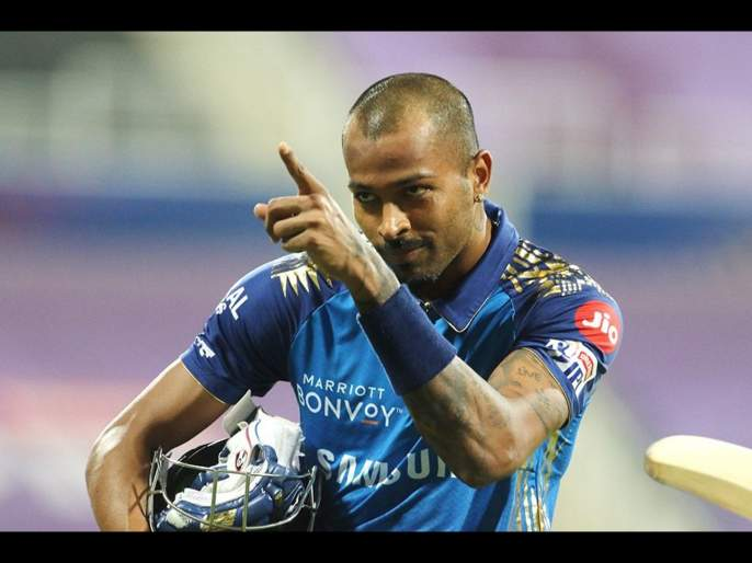 MI vs RR Latest News : Hardik Pandya's first nine balls: 8 runs, no boundaries; last 12 balls: 52 runs, seven sixes, two fours, Video | MI vs RR Latest News : Kung Fu पांड्या!, पहिल्या ९ चेंडूंत ८ धावा अन् त्यानंतर ६,१,६,६,६,१,१,६,४,४,६,६! Video