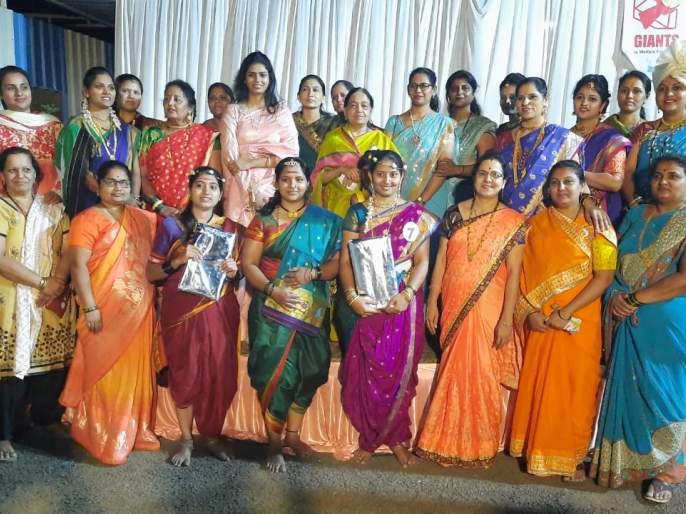 Amrita Suryavanshi wins Giants Queen competition   अमृता सूर्यवंशी यांनी जिंकली जायन्ट्स क्वीन स्पर्धा
