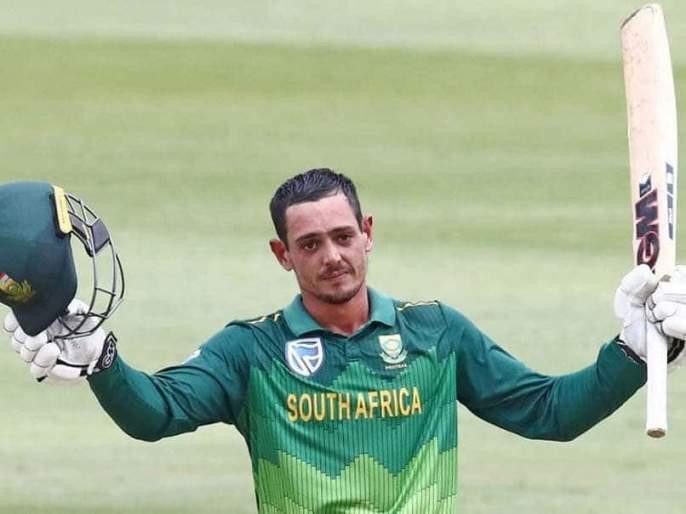 Quinton de Kock captains for the series against India   भारताविरुद्धच्या मालिकेसाठी क्विंटन डि कॉक कर्णधार