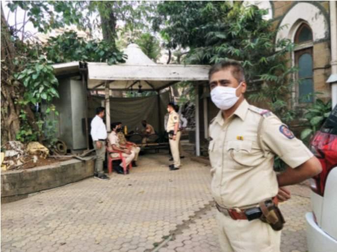 CoronaVirus News: Don't Forget Corona Virus; Police 'on mask' in commissioner's office | CoronaVirus News: कोरोना त्रिसूत्रीचा पडू नये विसर; आयुक्त कार्यालयात पोलीस 'ऑन मास्क'