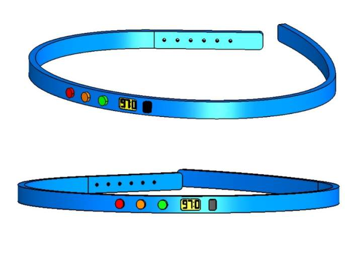 An alternative to 'Thermal Thermometer' developed by a young man from Pune; Production of 'Headband' | पुण्यातील तरुणाने तयार केला 'थर्मल थर्मामिटर'ला पर्याय; 'हेडबँड'ची निर्मिती