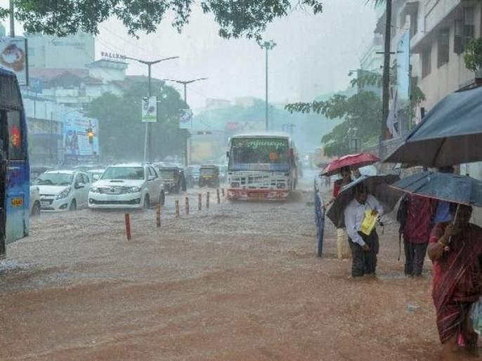 Rain alert today for rain | पावसाचा आज रेड अलर्ट; मुंबईसह रायगड, पुणे, साताऱ्यात अतिवृष्टीची शक्यता