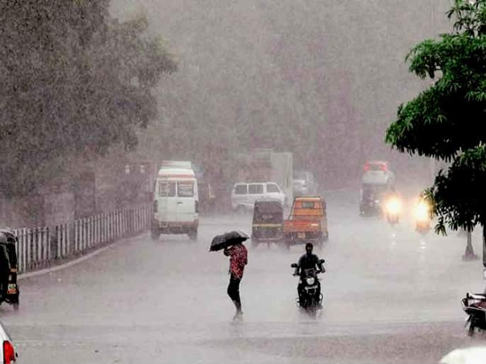 Returning rains will bring down the state | परतीचा पाऊस राज्याला झोडपणार