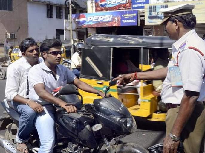 Without a helmet, the license will be suspended; 1000 fine, rules apply in Karnataka | हेल्मेट नसल्यास लायसन सस्पेंड होणार, 1000 चा दंड; कर्नाटकमध्ये केंद्राचा नियम लागू