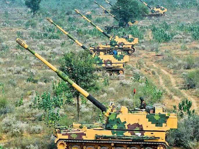 In the Indus Sudarshan war practice, 'Helliborne' took a precise observation | सिंधू सुदर्शन युद्ध सरावात 'हेलीबोर्न'ने घेतला अचूक वेध