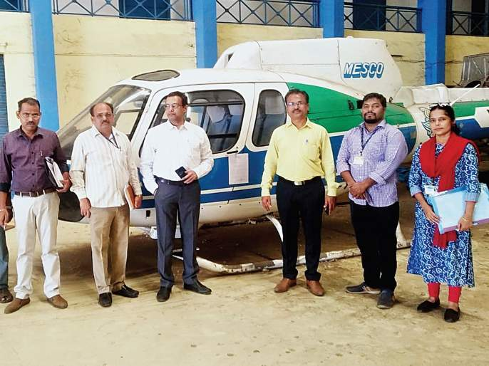 mumbai municipal corporation seized two helicopters for not filing Tax   कर थकवणाऱ्या विमान कंपनीची दोन हेलिकॉप्टर जप्त