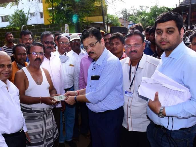 Allotment of around Rs. 5 crore to the flood victims | पूरग्रस्तांना २१ कोटींचे अनुदान वाटप, पंचनाम्याचे ४० टक्के काम पूर्ण