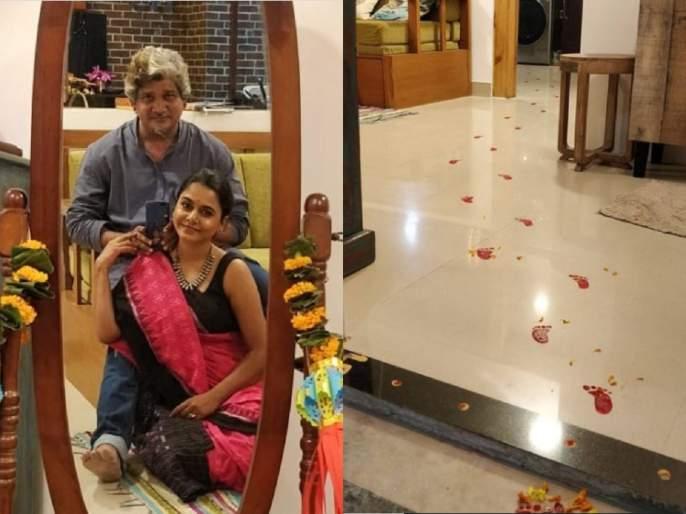 Hemangi Kavi Shares Inside Pictures Of Her new Home | नव्या नवलाईने हेमांगी कवीने नवीन घरात केला गृहप्रवेश, पाहा त्याचीच एक झलक