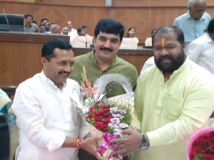 Hemant Rasne has been elected as the standing committee chairman of Pune Municipal Corporation | पुणे महापालिकेच्या स्थायी समिती अध्यक्षपदी हेमंत रासने यांची निवड