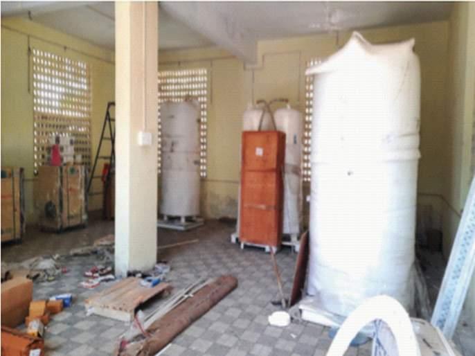 Oxygen generation plant will be set up in the district hospital   जिल्हा रुग्णालयात ऑक्सिजन जनरेशन प्लांट उभारणार