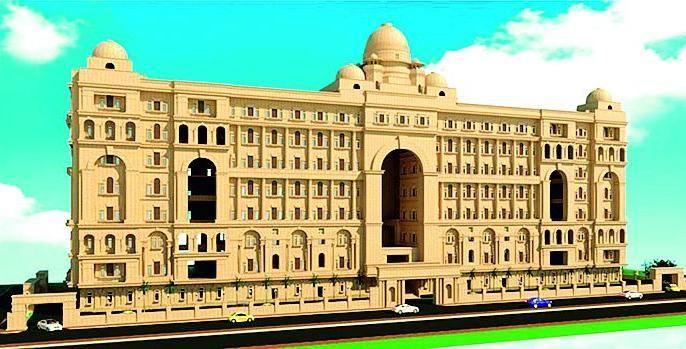 High Court new building wants Fourth FSI | हायकोर्टच्या नवीन इमारतीला हवाय चार एफएसआय