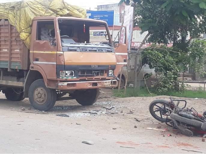 One hundred and fifty convicted of stoning in Hingoli | दगडफेक प्रकरणातील दीडशे जणांवर गुन्हा